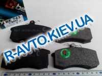 Колодки передние тормозные  БЕСТ , ВАЗ 2108 (ВЕ-743)
