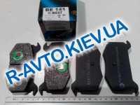 Колодки передние тормозные  БЕСТ , М 2141 (ВЕ-141)