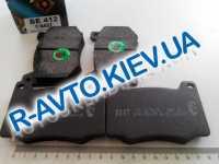 Колодки передние тормозные  БЕСТ , М 412, М 2140, Волга 3102 (ВЕ-412)