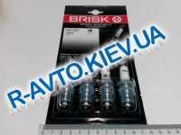 Свечи BRISK FR15YC (ФОРД) к-т, Чехия