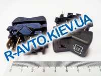 Включатель-клавиша обогрева зад. стекла ВАЗ 2107 с лампочкой, Автоарматура (26.3710.22.41)