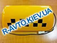 Знак  ТАКСИ , желтый Россия