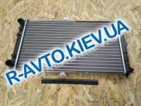Радиатор аллюм. ДААЗ ВАЗ 2112 (с датчик)