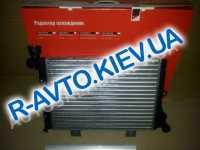 Радиатор охлаждения ВАЗ 2106 алюм., ДААЗ  (гарантия - до установки)