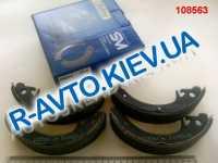 Колодки задние тормозные ВАЗ 2108 Dafmi (ДА140), в уп-ке