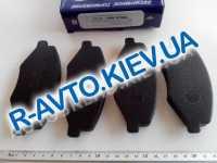 Колодки передние тормозные Frico Chery Amulet  (FC201), в уп-ке