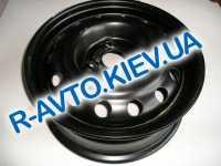 Диск колесный Lanos Кременчуг 14H2x55J черный