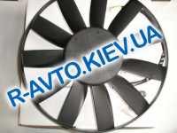 Мотор радиатора Волга, Газель Лузар (с крепеж. в упак.)(LFc 0310)