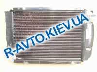 Радиатор медный Бишкек, ГАЗ 3102 406 дв. 2-х рядн.(152)