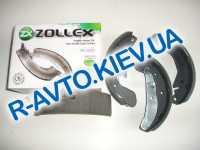 Колодки задние тормозные Lanos Zollex Z5000B в упке