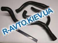 Патрубки радиатора, к-т, ВАЗ 1118, Лузар 3 шт. в упак.(LPK 0118)