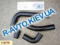 Патрубки радиатора, к-т, ВАЗ 21073 (инж.), Лузар 4 шт. в упак. (LPK 01073)