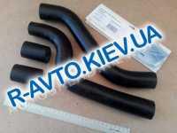 Патрубки радиатора, к-т, ВАЗ 2108, Лузар 4 шт. в упак. (LPK 0108)