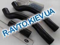 Патрубки радиатора, к-т, ВАЗ 2108 (инж.), Лузар 4 шт. в упак. (LPK 01082)