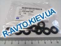 Кольцо уплотнительное форсунки Lanos, Aveo,  GM  Корея (25169195) верх.