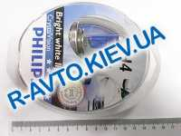 Лампа PHILIPS H4 12v 60/55-43 Cristal Vision  (4300 kelvin) (2 шт.)