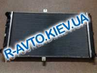Радиатор аллюм. Лузар, ВАЗ 2112 SPORT (под датчик) (LRc 01120b), в упаковке