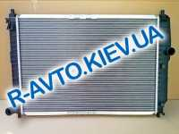 Радиатор аллюм. Лузар, Aveo (алюминиево-паяный)(с конд.)(LRc CHAv05125) (L=600)