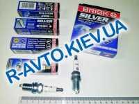 Свечи BRISK Silver DR17YS (Lacetti 1.8) (для газ.оборуд.) к-т, Чехия