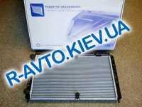 Радиатор аллюм. Лузар, ВАЗ 2170 с кондиц. Panasonic, в упаковке (LRC 01272b)