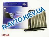 Радиатор печки аллюм.  АТ  ВАЗ 2111 (1060-011RA)