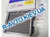 Радиатор печки аллюм. Лузар ВАЗ 2101-06 COMFORT (алюм-паяный) (LRh 0101b)