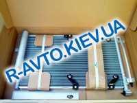 Радиатор кондиционера ВАЗ 2170, Лузар (LRAC 01272) с ресивером PANASONIC