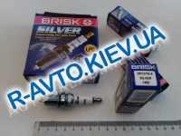 Свечи BRISK Silver DR15YS9 (Lanos 1.6) (для газ.оборуд.) к-т, Чехия