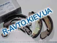 Колодки задние тормозные Aveo Konner (KBS-1008)