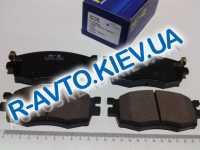 Колодки передние тормозные Accent MC, HI-Q (Корея) (SP1186)