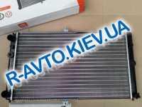 Радиатор охлаждения ВАЗ 2112 инж. алюм.,  Дорожная карта  (без датч.)