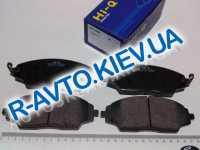 Колодки передние тормозные Aveo 14  с 2011 г., HI-Q (Корея) (SP1481)