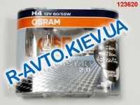 Лампа OSRAM H4 12v 60/55-43 Silverstar 2.0 (+ 60 %) (64193 SV2) пара