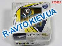 Лампа NARVA TWIN SET H3 12V 55W RANGE POWER WHITE (48602) (пара) синие, карт. упак.