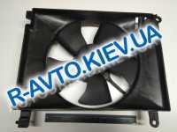 Диффузор радиатора Aveo (без конд.) с мотором, PMC (PXNAC-028)
