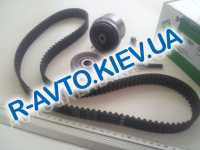Ремень ГРМ+ролики Aveo (T300) 1.6, INA (530 0450 10)