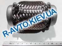 Гофра приемной трубы 45х100 мм., Amulet,  JMJ  Польша (JMJ 45X100P)