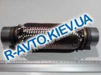 Гофра выхлопной системы с трубами 50х200 мм JMJ Польша JMJ 50X200R
