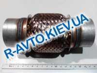 Гофра выхлопной системы с трубами 55х100 мм  JMJ  Польша (JMJ 55X100R)