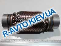 Гофра выхлопной системы с трубами 55х150 мм  JMJ  Польша (JMJ 55X150R)