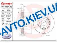 Диск тормозной передний  Brembo  (09.9997.10) Premium