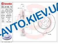Диск тормозной передний  Brembo  (09.A148.10) Premium